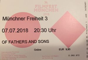 Of Fathers and Sons Ticket
